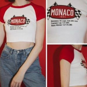 Brandy Melville Monaco Crop Top